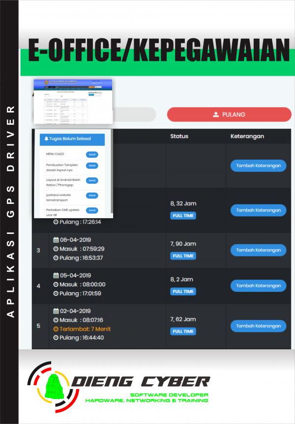 aplikasi office/kepegawaian